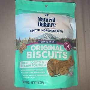 Natural balance small breed biscuit dog treats